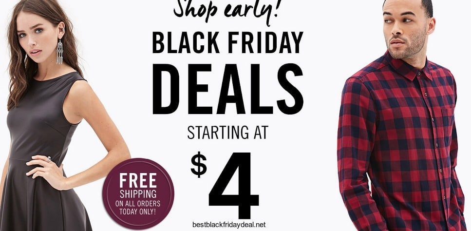 forever21 black friday deals