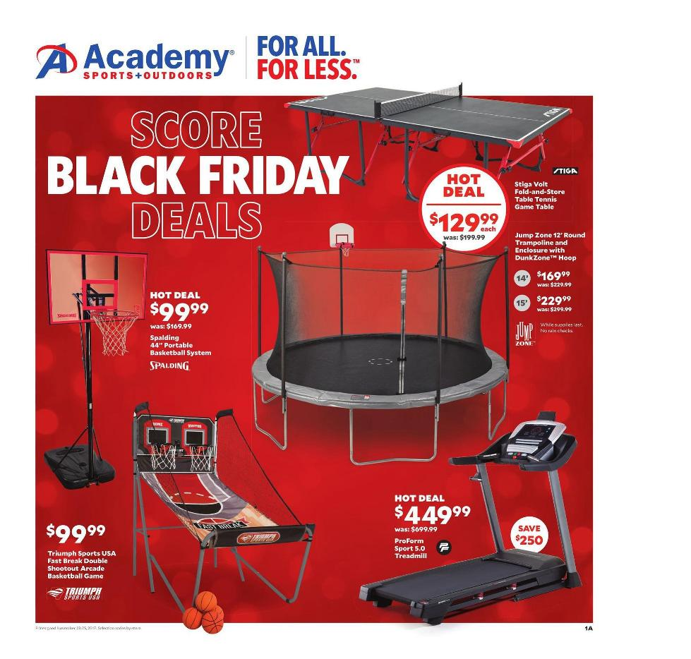 Academy sports Black Friday Deals