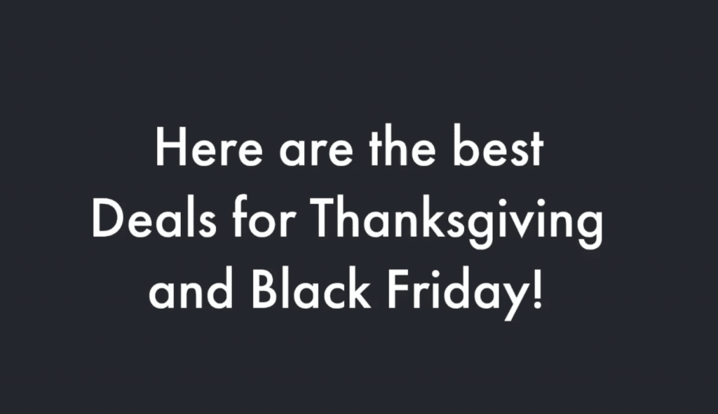 thanksgiving, black friday, cyber monday, thanksgiving deals, black friday deals