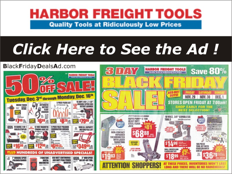 Harbor Freight deals, coupon, Harbor Freight black friday, Harbor Freightcyber monday