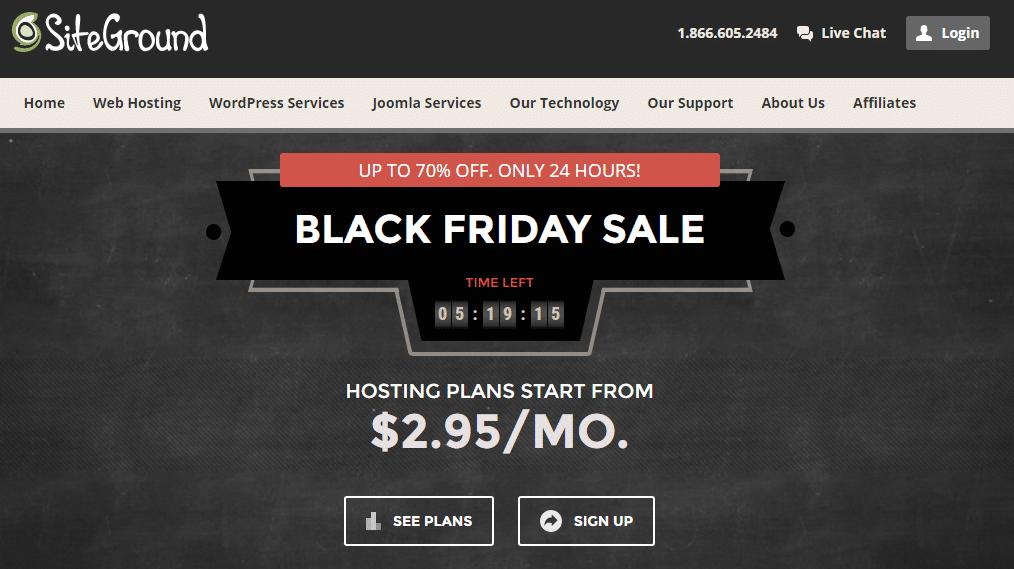 Best Deal Websites >> Siteground Black Friday 2019 Deals Grab Best Black Friday Site