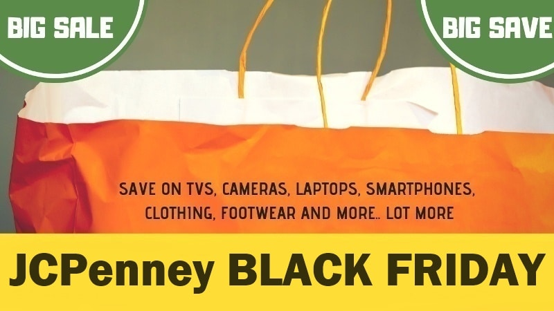 jcpenney doorbuster, jcpenney ad release , jcpenney black friday sale