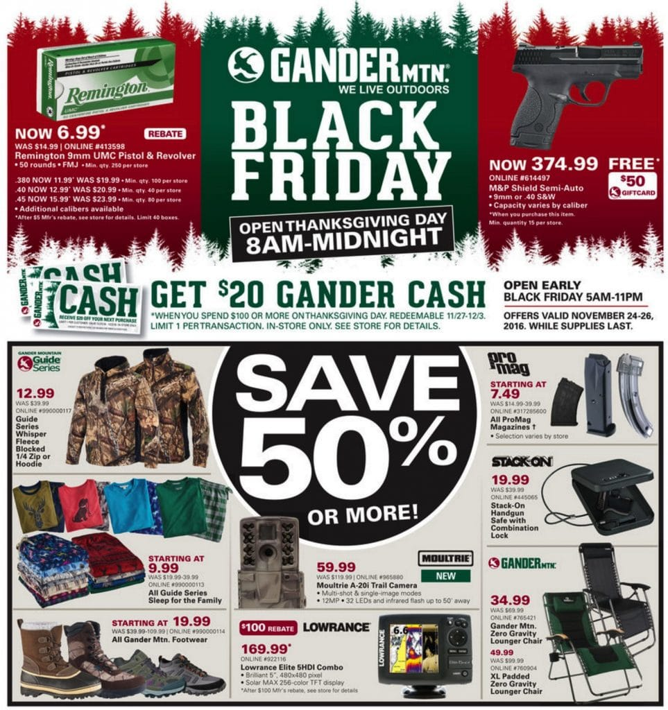 black friday, cybermonday, thankgiving, gander mountain,coupon, discount