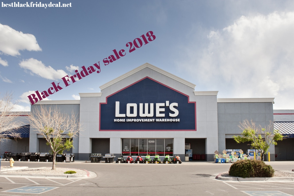 Lowe's Black Friday 2019