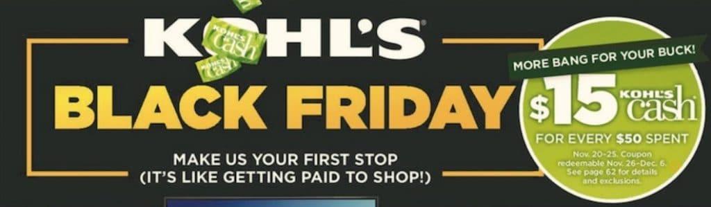 Kohl's, Kohls, black friday, thanksgiving, Kohl's deals, black friday sale, black friday Kohl's sale