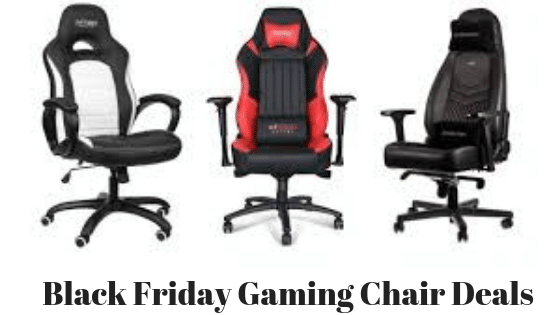 Best Gaming Chair Deals On Black Friday 2019