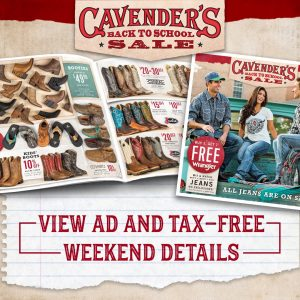 Cavender's black friday sale