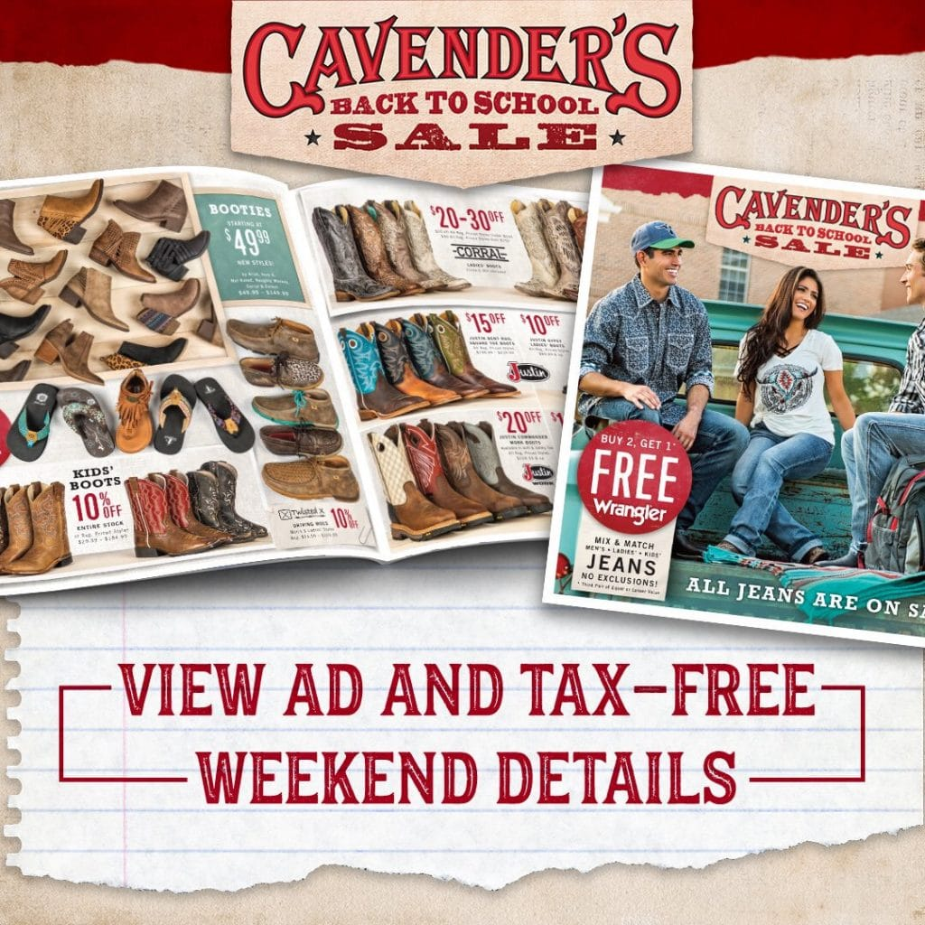 Cavender's sale,coupon,deal,discount,offers