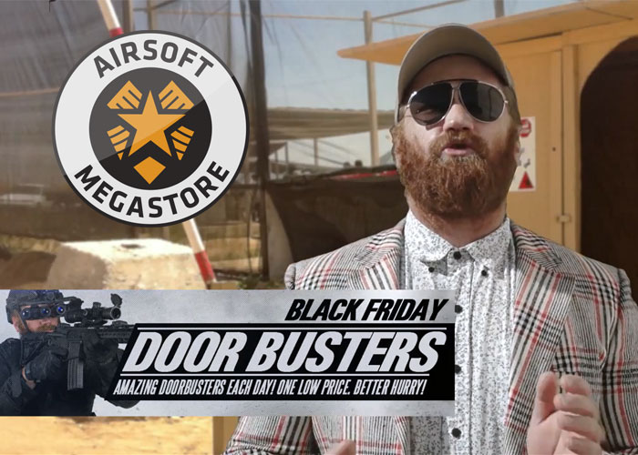 airsoft black friday sale, black friday airsoft megastore, deals, discounts, coupons, guns, ammo deals,