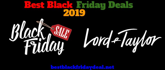 Lord and Taylor Black Friday 2019 Deals