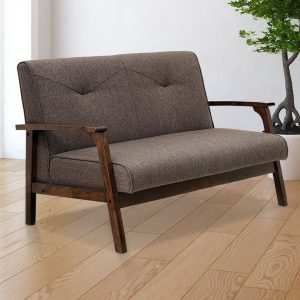 Mistana Alijah Mid Century Vintage Modular Loveseat Black Friday Deals