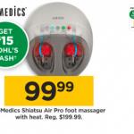 HoMedics Shiatsu Air Pro Foot Massager Black Friday Deals