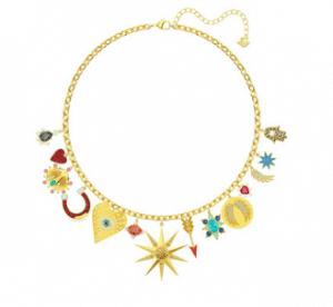 Swarovski Lucky Goddess Charm necklaces Black Friday Sale