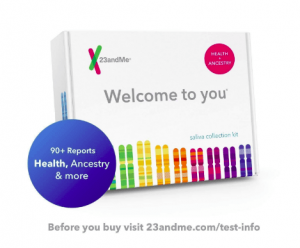 New 23andMe DNA Test - Health + Ancestry Personal Genetic Service - 90+ Report Black Friday 2019 Deals