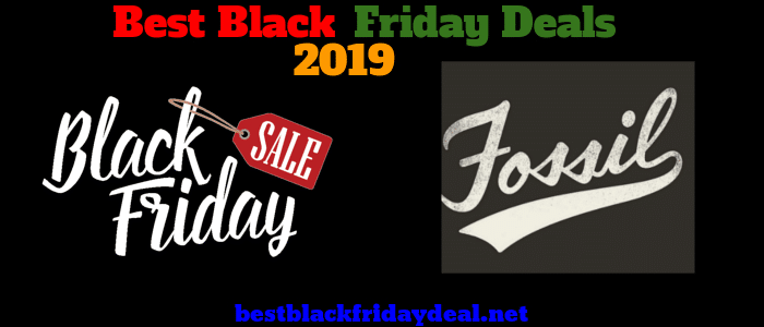 Fossil Black Friday 2019 Sale