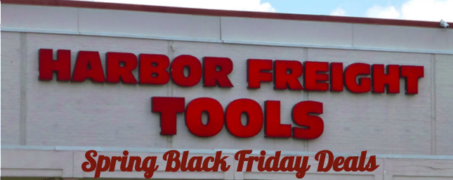 Harbor Freight Black Friday 2019 Deals