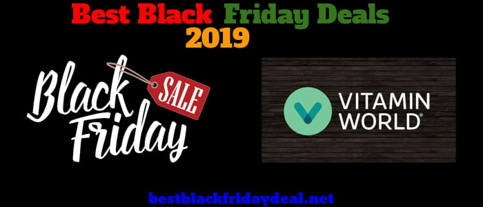 Vitamin World Black Friday 2019