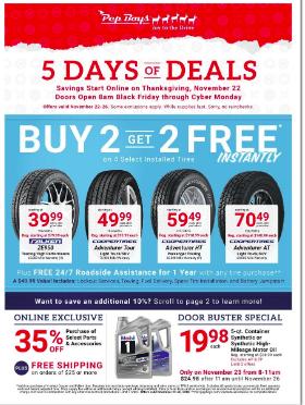 Pep Black Friday Deals