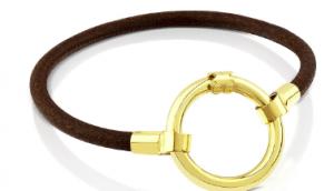 Tous Vermeil Silver & leather hold Bracelet Black Friday 2019 Deals