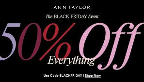 Ann Taylor Black Friday Ad Scan 2018