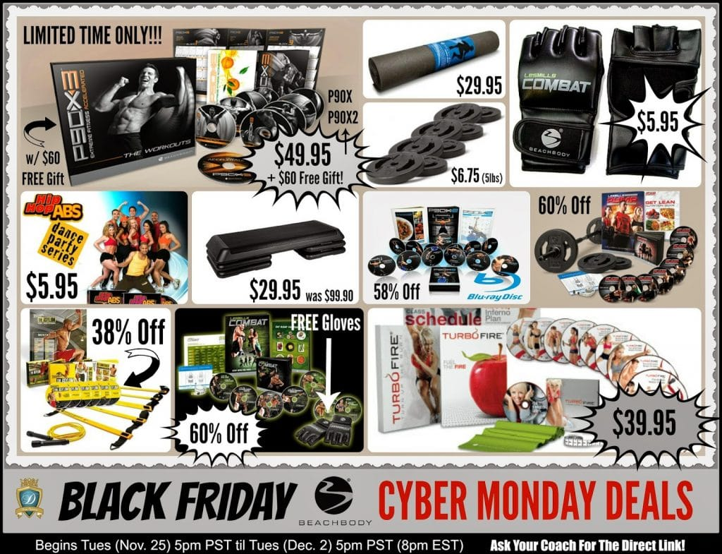 Beachbody Black Friday 2019
