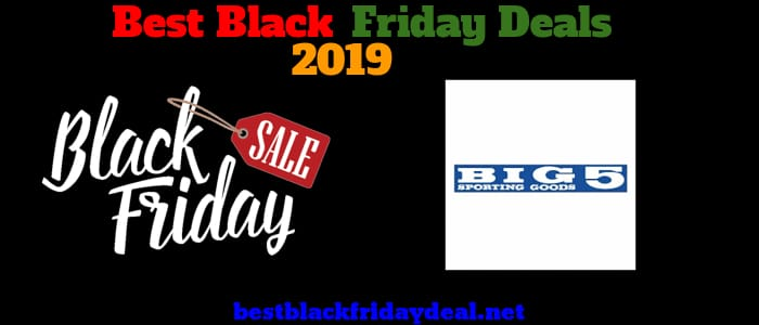 Big 5 Black Friday 2019 Deals