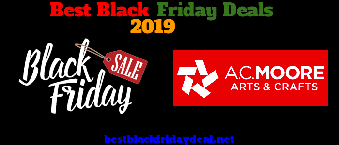 Ac moore BlackFriday 2019 Sale