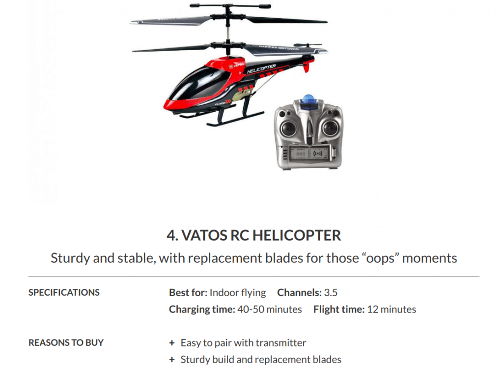 Black-Friday-RC-Helicopter deal 2019
