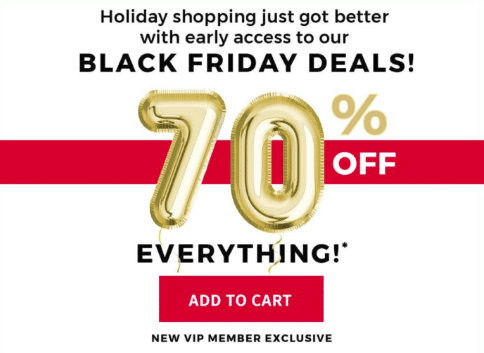 Burkens Outlet Black Friday Deals