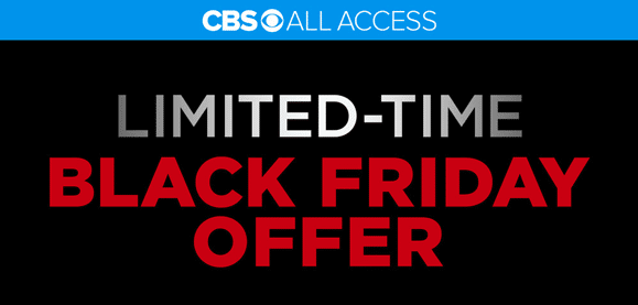 CBS All Access Black Friday Deals