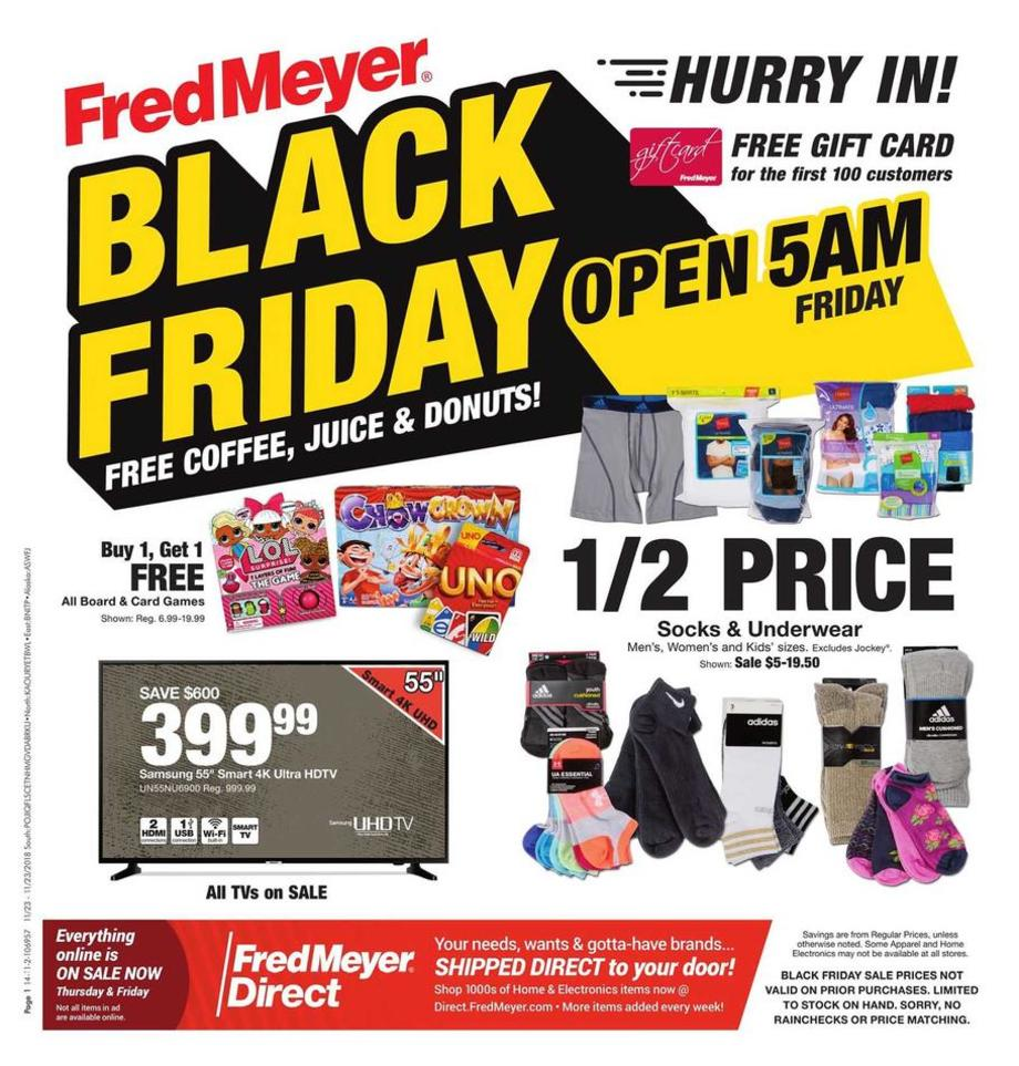 Fred Meyer Black Friday 2019
