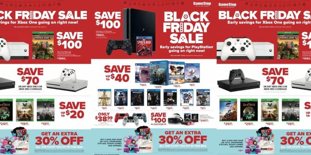 Gamestop Black Friday 2019 Deals Grab Deals On Gaming Consoles