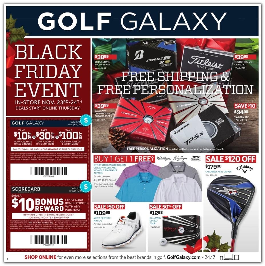 Golf Galaxy Ad Scan 2018