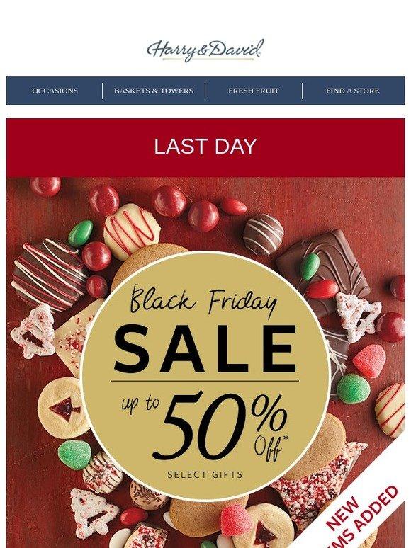 Harry & David Black Friday Sales