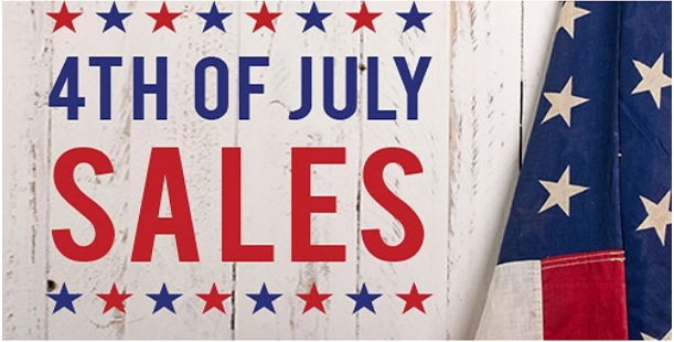July fourth Sale 2019