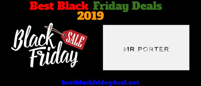 Mr Porter Black Friday 2019 Deals