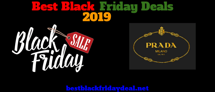 Prada Black Friday 2019 Sale