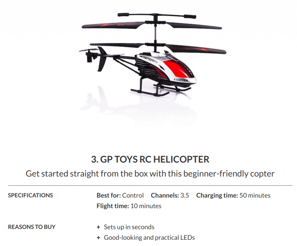 RC Helicopter Black Friday 2019