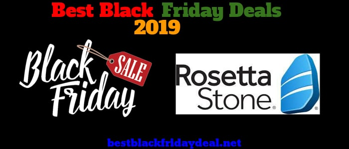 Rosetta Stone Black Friday 2019 Deals