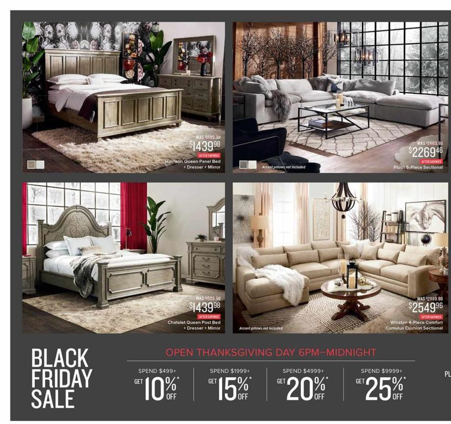 Value city Black Friday Ad Scan 2018