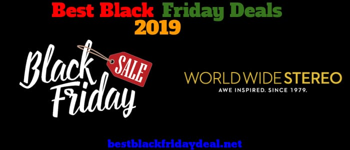 World Wide Stereo Black Friday Sale