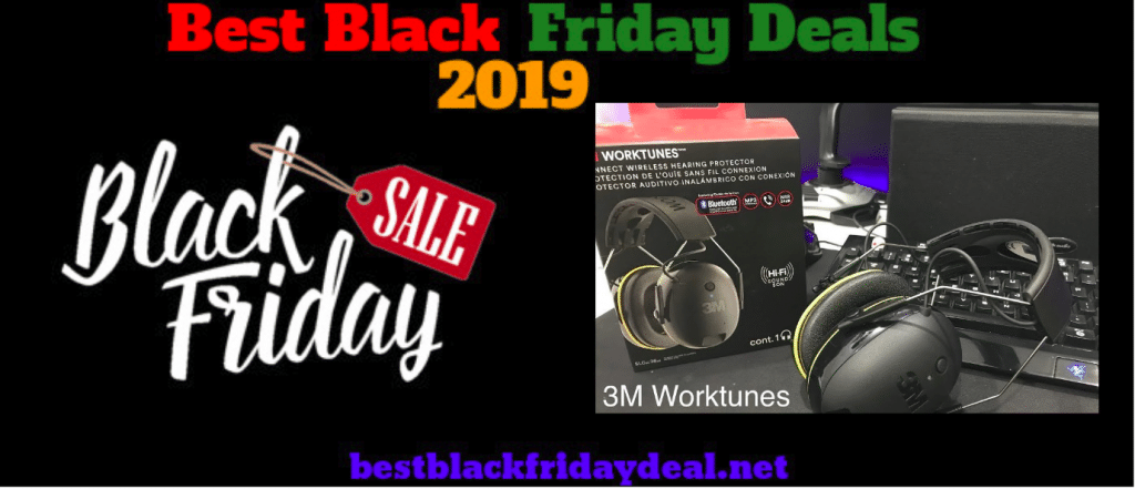 3M Worktunes Bluetooth Headphone Black Friday Sales 2019