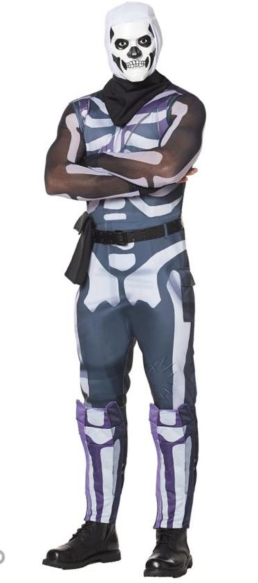 Adult Skull Trooper Costume-Fortnite