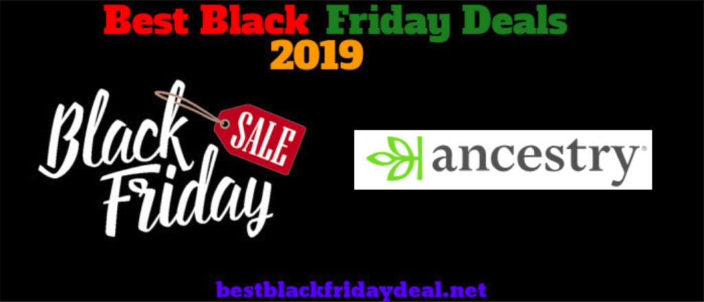 Ancestry.com Black Friday Sales 2019