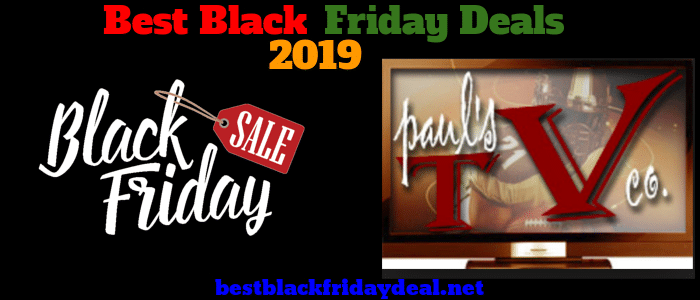 Paul's Tv Black friday 2019 sale
