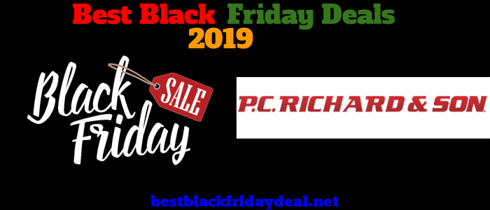 PC Richard and Son Black friday 2019 sale