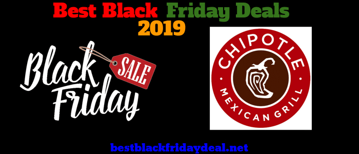 Chipotle Black friday 2019 sale