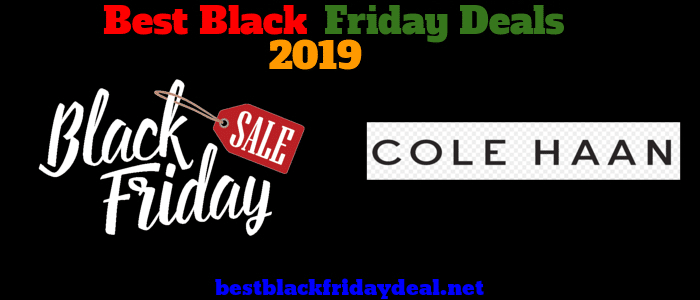 Cole Haan Black friday 2019 sale