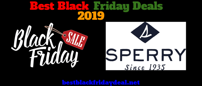 Sperry Black Friday 2019 sale