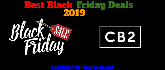 CB2 Black friday 2019 sale